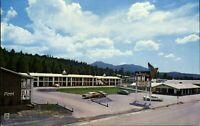 Thunderbird Inn ~ 1950s cars Route 66 ~ Williams Arizona AZ ~ vintage postcard