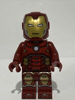 Lego Iron Man Silver Hexagon on Chest SH612 From Avengers Tower Battle 76166 NEW