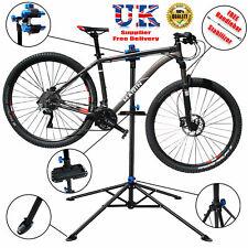 Adjustable Bicycle Folding Maintenance Repair Stand Cycle Mechanic Workshop Rack