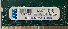 Memorybank Technology 8GB DDR4 2400MHz PC4-19200 SODIMM Sodimm Laptop 10 Pack