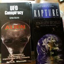 BUNDLE: Ufo Conspiracy,  Rapture,  The ALIEN Interviews,  An Alien World.