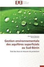 Gestion Environnementale des Aquiferes Superficiels Au Sud-Benin by Boukari...