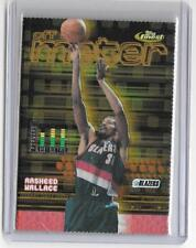 RASHEED WALLACE 2000 TOPPS FINEST GOLD REFRACTOR #7/100