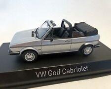 VW GOLF 1 Convertible 1981 , silber-met. NOREV 1:43
