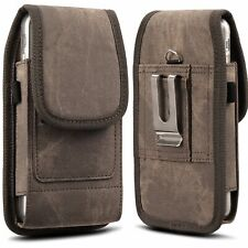 Cell Phone Carrying Case For iPhone 12 Pro Max Vertical Belt Clip Pouch Holster