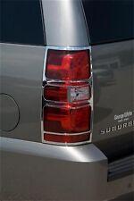 Chrome Tail Light Cover fits 2007-2009 Chevrolet Suburban 1500,Tahoe Suburban 15