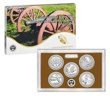 2015 - S Clad Park Quarter 5 Coin Proof Set in OGP/Box BELOW MINT Issue Price