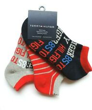 Tommy Hilfiger Kid Boys' Ankle Socks 3-Pack, Shoe Size: M (12-4)