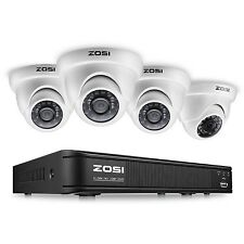 ZOSI 8-Channel AHD-TVI 1080N/720P Video Security Camera System 1080N AHD Surv...
