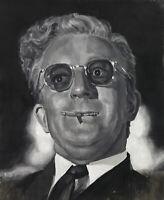 Dr. Strangelove ART PRINT from original oil painting 13x19in
