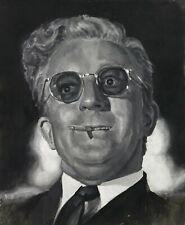 Dr. Strangelove Art Print from original oil painting 13x19in