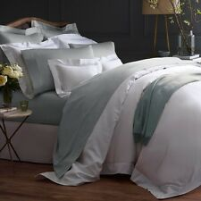 Sferra Giotto Collection King Flat Sheet White