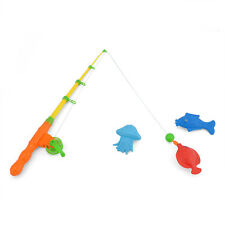 Hot Magnetic Fishing Game Toy Rod Fish Hook Catch Kids Childern Bath Time Gifts