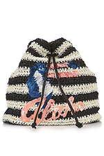 Topshop Drawstring Handbags with Inner Pockets