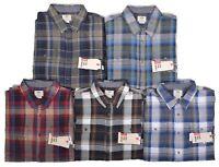 Vans Men's $54.50 Casual Elm Plaid Flannel Button Up Shirt Choose Color & Size