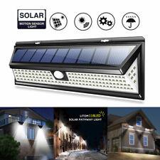 5000LM 118LED Solar Lamp Outdoor Garden Waterproof PIR Motion Sensor Light