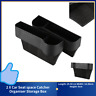 2 X Car Seat space Catcher Organiser Storage Box Pocket W/ Cup Holder Side S1U5