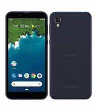 Google Sharp Android One S5 IGZO Smartphone Unlocked Phone Blue New Japan