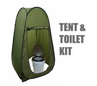 Portable Outdoor Instant Pop Up Tent Toilet Privacy Camping Includes Loo
