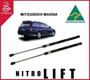 NITRO LIFT GAS STRUTS SUIT MITSUBISHI MAGNA WAGON TAILGATE 1991-2004