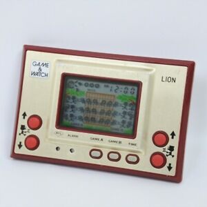 LCD LION Nintendo Game Watch LN-08 Tested Handheld Game Modified 0613