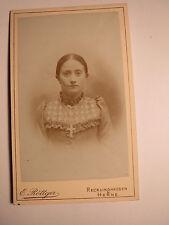 Recklinghausen & Herne - Mädchen - junge Frau - Portrait / CDV