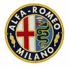 Alfa Romeo Porcelain Advertising Sign