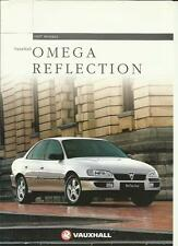 VAUXHALL OMEGA REFLECTION SPECIAL EDITION CAR SALES BROCHURE JANUARY 1997
