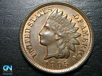 1895 Indian Head Cent Penny  --  MAKE US AN OFFER!  #B5501