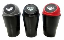 4x Mini Trash Rubbish Bin Dust Case Holder Mini Office Home Auto Vehicle Car