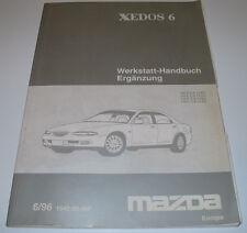 Werkstatthandbuch Mazda Xedos 6 Bremsen Karosserie Automatik Getriebe Abgas!