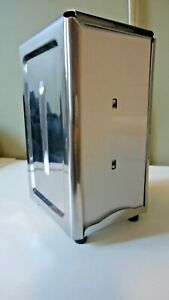 Adcraft Stainless Steel Napkin Dispenser -  #SSNH-357 - Used