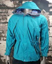 PATAGONIA VTG 90's Hooded Parka Winter Jacket Coat Mens Medium Teal Blue
