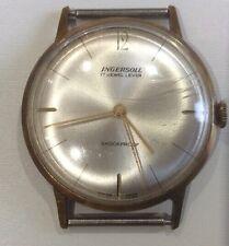 Ingersoll Vintage Mans Wristwatch 17 Jewel Lever Shockproof Made in Switzerland