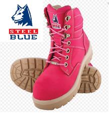Steel Blue Argyle Zip Work Boot - 332152