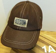 """""""THE NEW AUTHENTIC OLD STONE"""" ARMANI JEANS WOOL HAT BROWN STRETCH FIT VGC"""