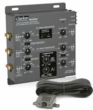 CLARION MCD360 3-WAY 6-CHANNEL INPUT ELECTRONIC CROSSOVER W/ 5-VOLT RCA OUTPUTS