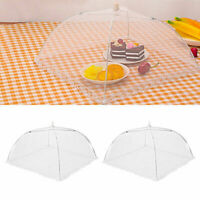 Food Umbrella Cover Fly Mosquito Mesh Screen Net For Picnic BBQ Cookou chen D9V0