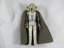 1983 Squid Head w/ cape & belt vintage Star Wars action figure, cloak Quarren