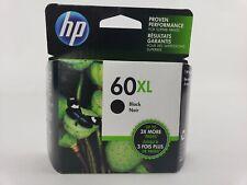 GENUINE HP 60 XL HIGH YIELD BLACK INK CARTRIDGE EXPIRES 2020
