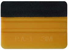 3M Pro Gold Felt Edge Carbon Fibre Vinyl Squeegee Sheet Car Wrap Applicator Tool