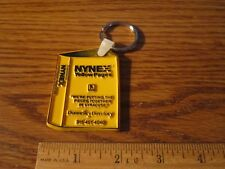 NYNEX Telephone Yellow Pages Key Ring Keychain Collectible Syracuse NY FREE SHIP