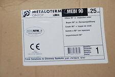 METALOTERM ONTOP MEBI90 MEBI 90 250mm 25cm BOGEN MIT REINIÖFFNUNG NEU OVP