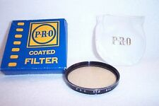 PRO 55 mm NEW 81A Screw-In Filter with Pouch/Box Made in Japan (K-256)