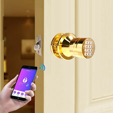 Easy Install Bluetooth Security Smart Lock with Key Pad Low Battery Inform