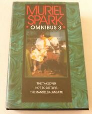 Muriel Spark - Omnibus 3 1996 HARDBACK BOOK  The takeover, Not to disturb etc