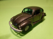 GAMA MINI 898 VW VOLKSWAGEN 1302 BEETLE KAFER - BROWN 1:43 - EXCELLENT CONDITION