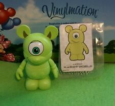"Disney Vinylmation 3"" Park Set 2 Mike Wazowski Monsters Inc with Card"