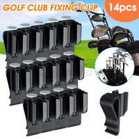 14X Golf Club Bag Clip On Putter Clamp Holder Putting Organizer Ball Marker UK