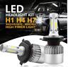 2X H4 Upgrated Bright LED Headlights Car Globe Bulbs Kit Low Beam 6500K  Q